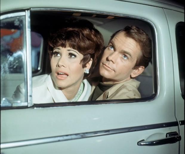 Dean Jones e Michele Lee no filme 'Se meu Fusca falasse', de 1968 (Foto: Divulgação)