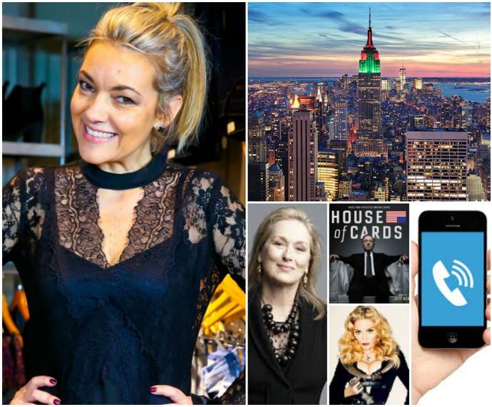 Rodaika raio x gostos dia das mães brenda Rodaika Smartphone Madonna Meryl Streep Kevin Spacey Nova York Mistura com (Foto: Montagem sobre fotos de Reprodução, Divulgação e Marcos Nagelstein)