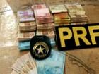 Policiais encontram quase R$ 70 mil e maconha em abordagens no Paraná