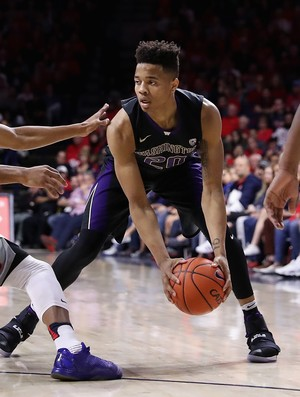 Markelle Fultz, da Universidade de Washington, é alvo do Philadelphia 76ers no draft