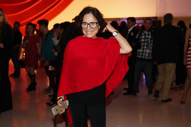 Regina Duarte prestigia sessão para convidados do filme de Regina Casé (Foto: Manuela Scarpa/Photo Rio News)