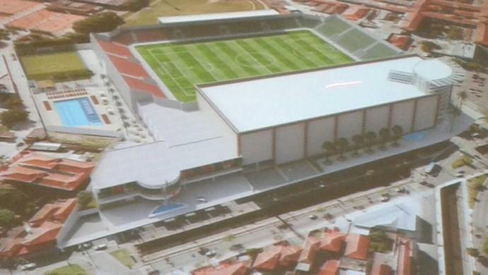 Projeto Arena Ulrico Mursa (Foto: Divulgação / Walter Dias)