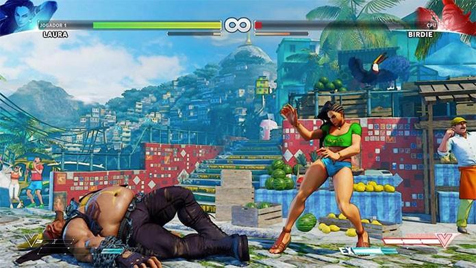 Lutas de darão ranking em Street Fighter 5 (Foto: Reprodução/Felipe Vinha)