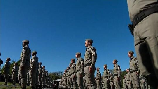 RS deverá ter mais de 1 mil novos policiais militares a partir da próxima semana