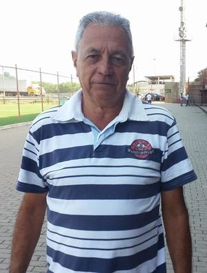 Wilson de Jesus, presidente da Desportiva (Foto: Richard Pinheiro/GloboEsporte.com)