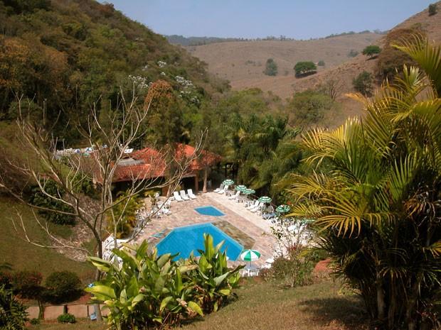 Hotel Riacho verde, em Monte Alegre do sul (Foto: Divulgação)
