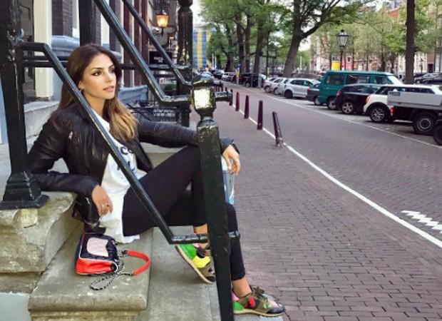 Carol Celico em Amsterdam nesta terça-feira (11) (Foto: Reprodução/Instagram)