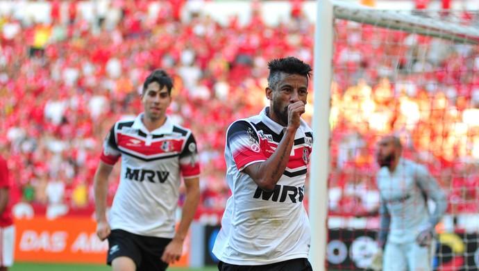 Leó Moura Inter x Santa Cruz (Foto: Wesley Santos/Agência PressDigital)