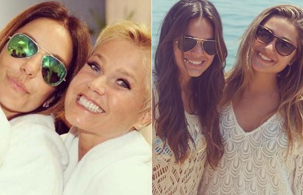 Xuxa e Sasha têm amigas de anos  (Foto: Reprodução Instagram )