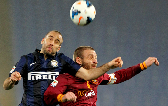 Palacio De Rossi Roma Inter de Milão (Foto: Getty Images)