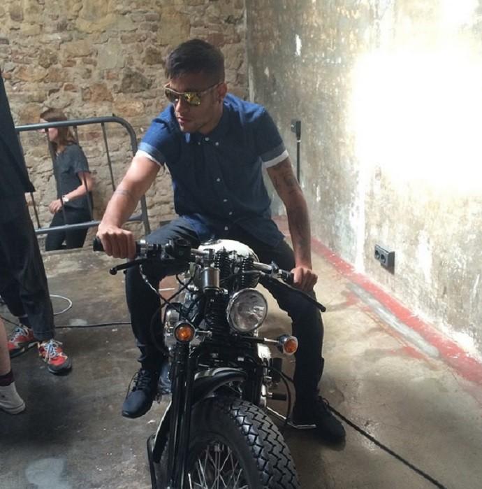 Neymar moto (Foto: Reprodução/Instagram)