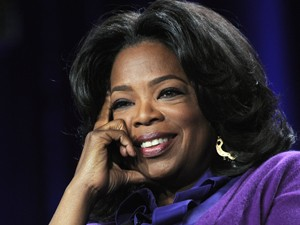 A apresentadora Oprah (Foto: AP)
