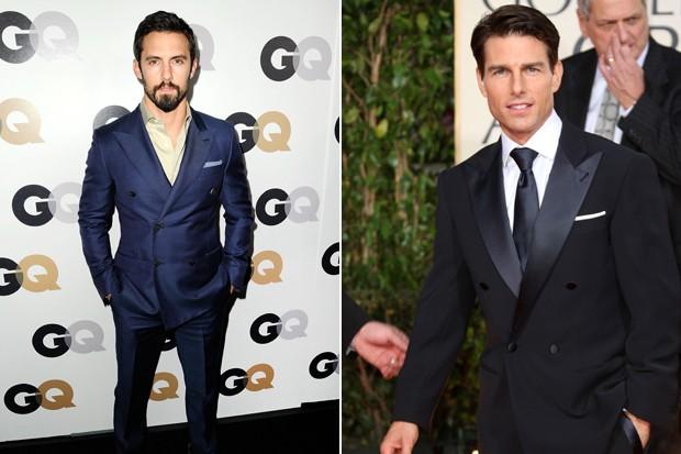 Invista em blazers de abotoamento duplo tanto para festas, quanto para o trabalho (Foto: Getty Images)