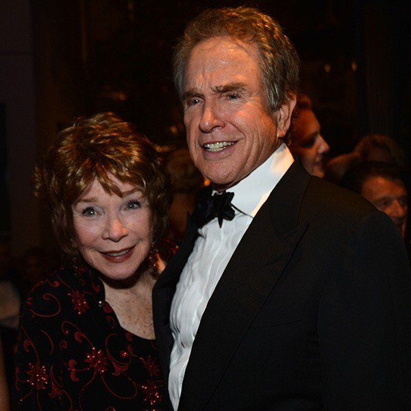 Shirley MacLaine e Warren Beatty (Foto: Getty Images)