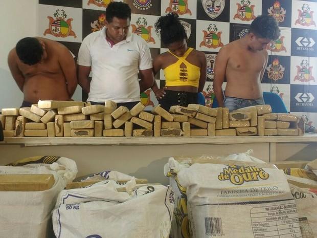 Criminosos foram investigados durante  seis meses (Foto: Divulgação/SSP-MA)