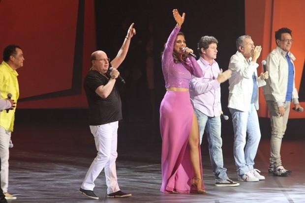 Ivete Sangalo no palco do Criança Esperança 2013 (Foto: Gabriela Andrade e Thyago Andrade/Foto Rio News)