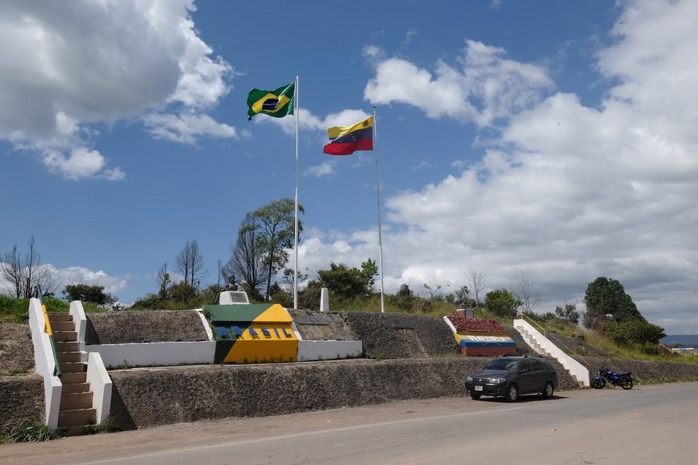 Estado de Roraima faz fronteira com a Venezuela (Foto: Inaê Brandão/G1 RR/Arquivo)