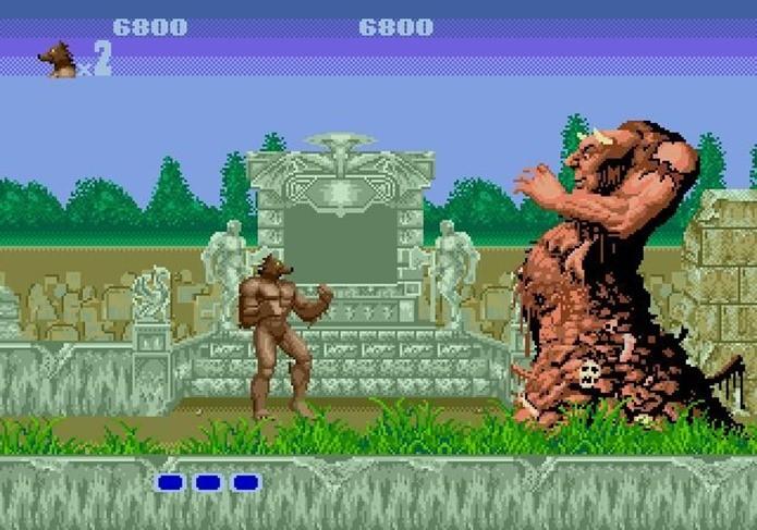 Versão para Mega Drive tinha melhores efeitos de transição ao fundo (Foto: Reprodução / Dario Coutinho)