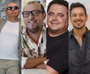 Marcelo Tas, Xico Sá, Leo Jaime e João VIcente de Castro (Foto: Arquivo/divulgação)