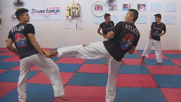 Taekwondo; Amapá (Foto: Reprodução/Rede Amazônica no Amapá)