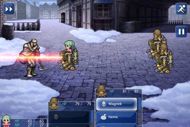 Clássico 'Final Fantasy VI' foi relançado para dispositivos Android (Foto: Divulgação/Square Enix)