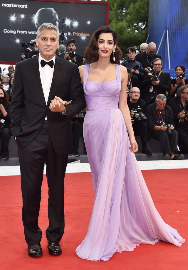 Amal Clooney e George Clooney (Foto: Pascal Le Segretain/Getty Images)