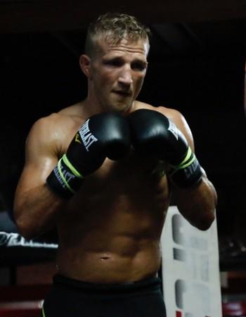 TJ Dillashaw treino aberto UFC Chicago (Foto: Evelyn Rodrigues)