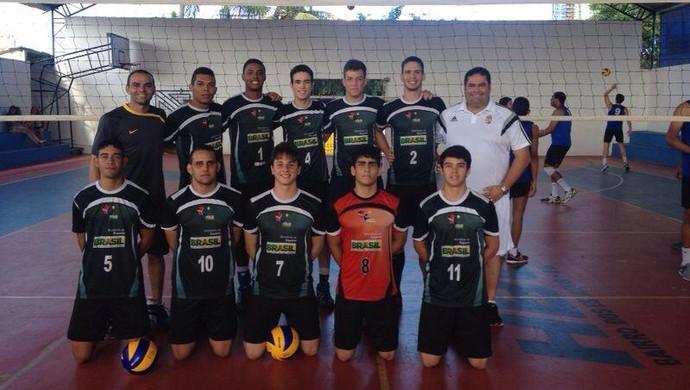 Seleção paraibana, vôlei, quadra, Sub-20 (Foto: Divulgação)