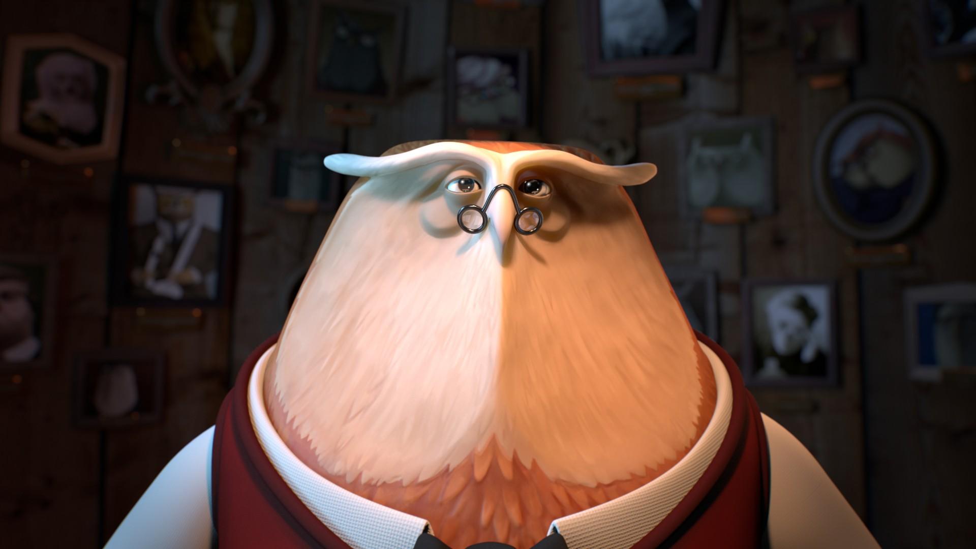 Vizinho Cara de Pau - Uma coruja médica se empenha em seguir os passos de seus antepassados ao tentar solucionar uma equação difícil. Mas um pica-pau perturba os esforços... (Foto: Divulgação)