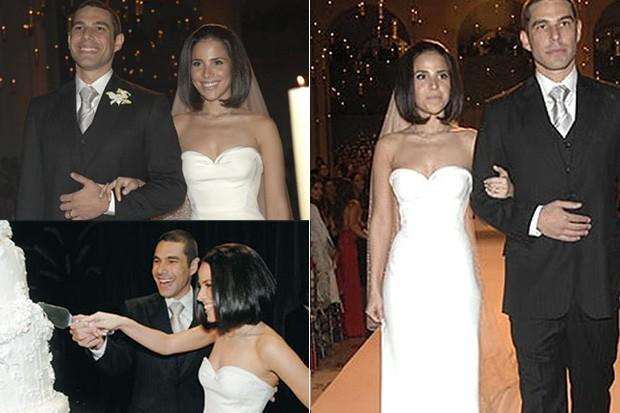 CASAMENTOS - Wanessa e Marcus Buaiz  - 2007 (Foto: EGO)