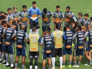 Mirassol treino Campeonato Paulista (Foto: Marcos Antonio de Freitas / Divulgação)