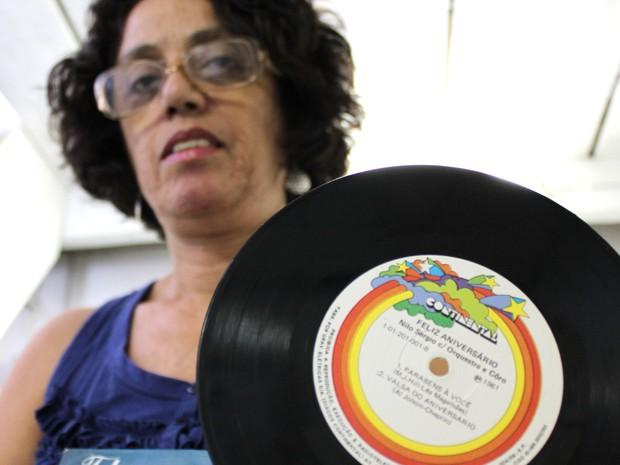 Neta autora Parabéns a Você Jacareí Homem de Mello (Foto: Márcio Rodrigues/G1)