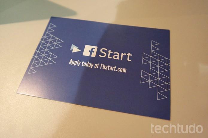 F-Start, evento de desenvolvedores do Facebook, acontece também no Brasil  (Foto: Melissa Cruz/TechTudo)