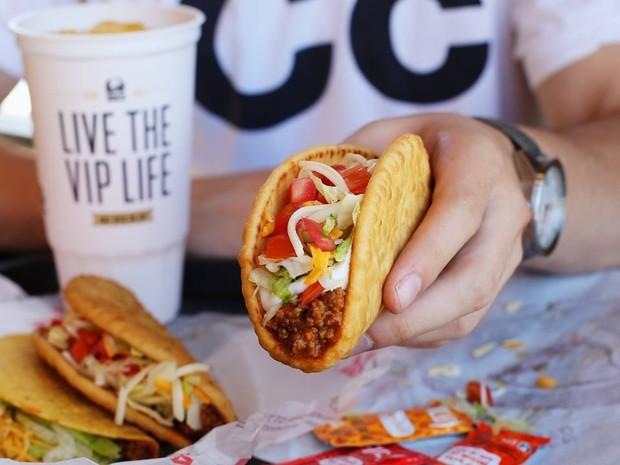 Rede de fast food Taco Bell chega ao Brasil no segundo semestre (Foto: Reprodução/Facebook/Taco Bell)
