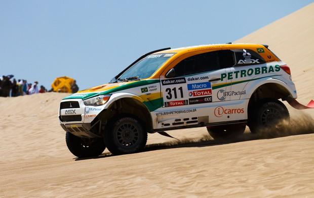 Percursos no Peru são marcados por areia e dunas (Foto: Divulgação)