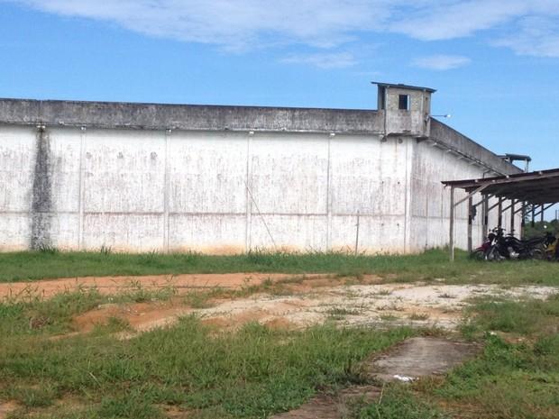 Presídio Cruzeiro do Sul (Foto: Presídio em Cruzeiro do Sul)