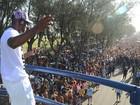 Nelson, Bateria do Ururau e Dibobeira encerram Carnaval em Farol, Campos