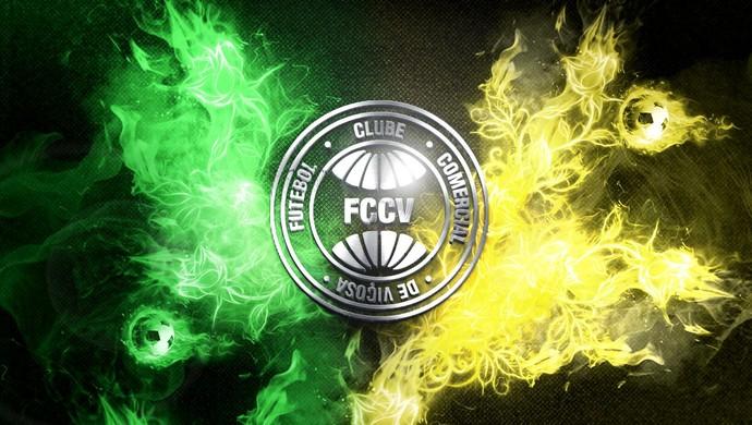 Escudo do Comercial de Viçosa, criado pelo designer Tom Carvalho (Foto: Tom Carvalho/Arquivo Pessoal)