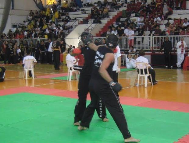 Augusto Sampaio Kung Fu Uberlândia Brasileiro (Foto: Gustavo Rodrigues)