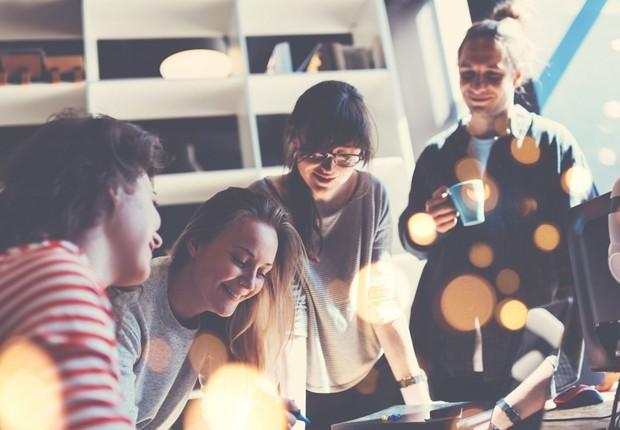 jovens, startups, geração y (Foto: Thinkstock)