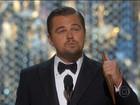 Leonardo DiCaprio é premiado como melhor ator depois de 5 indicações