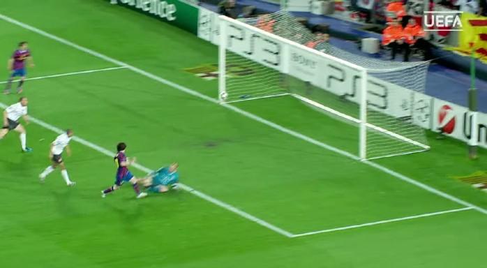 Messi, Barcelona x Arsenal