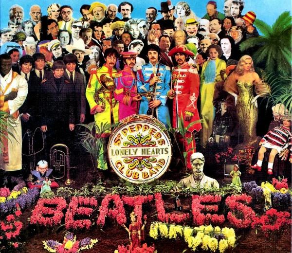Capa original do álbum dos Beatles (Foto: Reprodução)