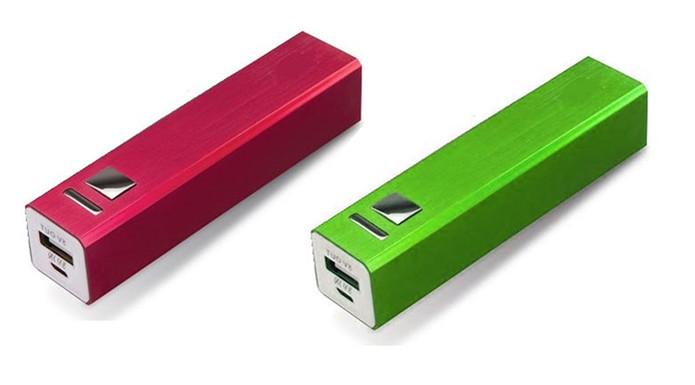 Power Bank com design premium em alumínio colorido (Foto: Divulgação/X-Cell)