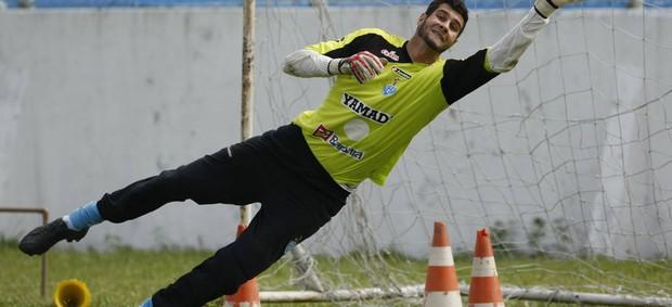 Dalton, goleiro do Paysandu (Foto: Marcelo Seabra/O Liberal)