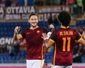 Totti dá assistência para Salah, mas Roma só empata com o Bologna
