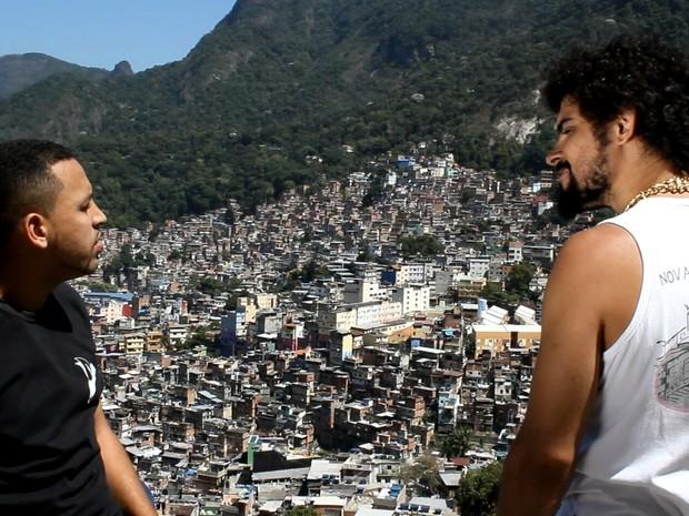 Cena do filme Fuga da Rocinha (Foto: Divulgação)
