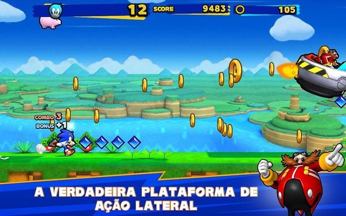Sonic Runners chega ao iPhone e iPad (Foto: Divulgação)