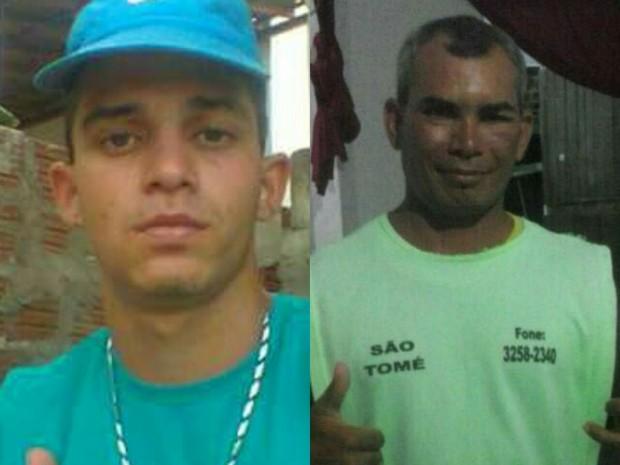 Miguel Cassiano, de 17 anos, e o mototaxista Damião foram as outras vítimas (Foto: Divulgação / PM)