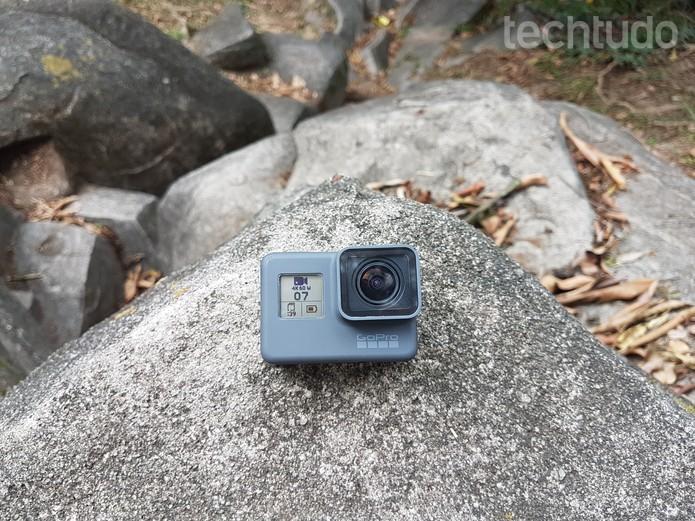 Hero6 Black permite vídeos em super câmera lenta. (Foto: João Gabriel Balbi/TechTudo)